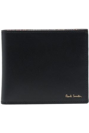 Paul Smith Artist stripe-print leather wallet