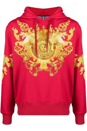 VERSACE Barocco-print hoodie