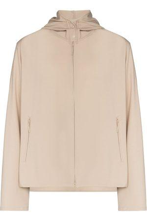 Y-3 Logo-print zip-up lightweight jacket