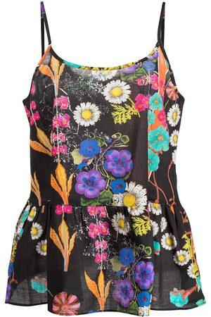 Cynthia Rowley Floral-print camisole sleep set