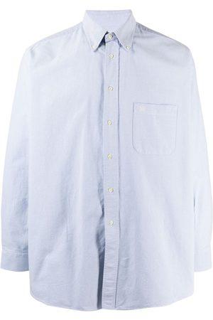Burberry 2000s plain button-down shirt