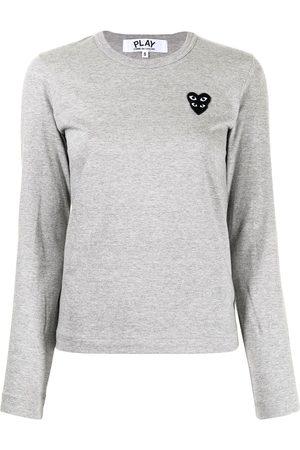 Comme des Garçons Chest logo-patch T-shirt
