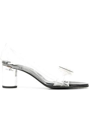 Comme des Garçons Mid-heel transparent sandals