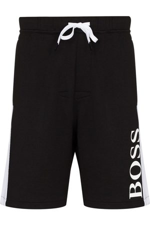 HUGO BOSS Logo-print track shorts