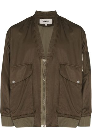YMC V-neck bomber jacket