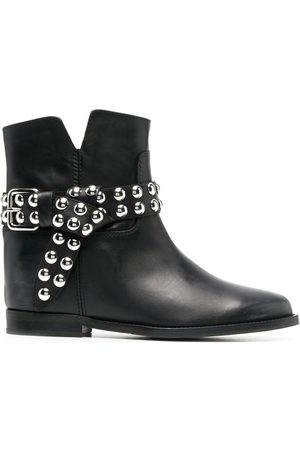 Via Roma Women Ankle Boots - Studded ankle boots
