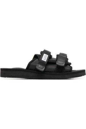 SUICOKE Men Sandals - Double-strap sliders