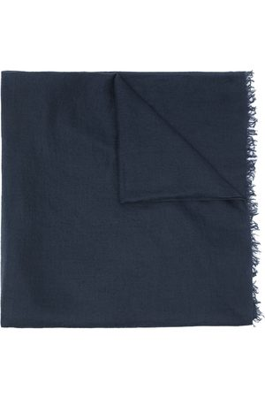 Goooders Embroidered-logo pashmina scarf