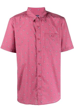Patagonia Bird-print shortsleeved shirt