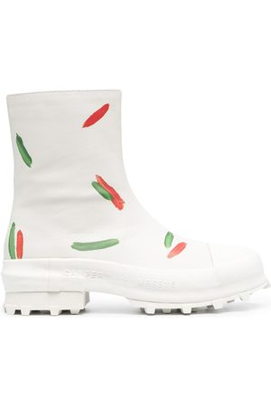 Camper Lab Chunky printed ankle boots