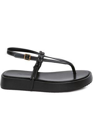 J.W.Anderson Braided-strap flatform sandals