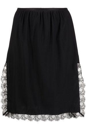 Kiki de Montparnasse Lace-trim slip skirt