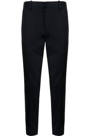 Neil Barrett Mid-rise slim-cut trousers