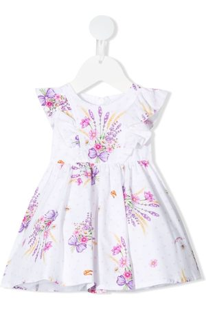 MONNALISA Floral-print sleeveless dress
