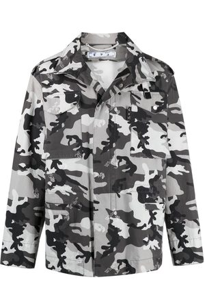 OFF-WHITE Camouflage-print jacket