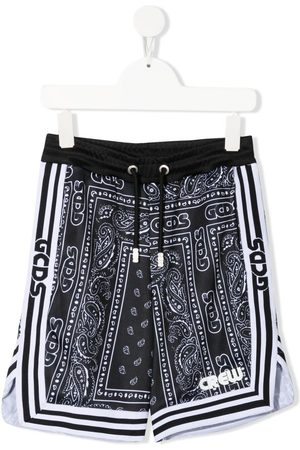 GCDS Bandana print shorts