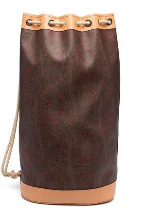 Etro Paisley-print luggage bag
