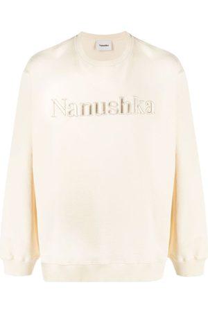 Nanushka Logo-embroidered sweatshirt