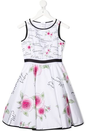 MONNALISA Summer vibes-print dress