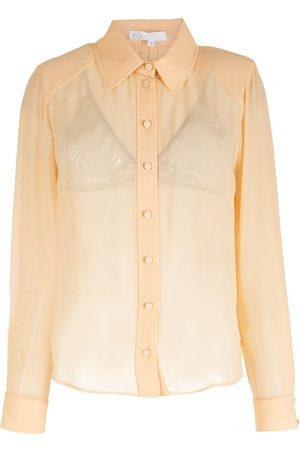 NK Women Long Sleeve - Silk long sleeves shirt