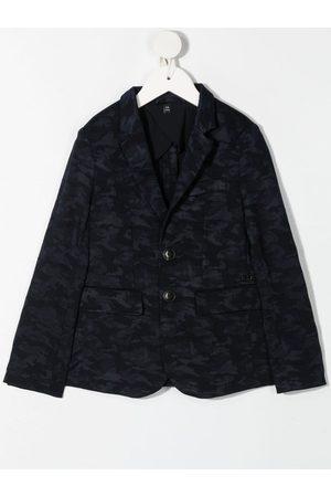 Emporio Armani Camouflage-print blazer