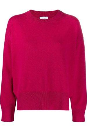 Barrie Side-slit knit jumper