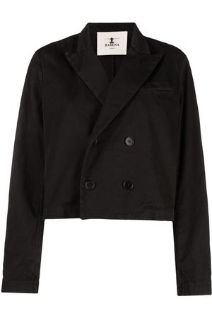 BARENA Double-breasted denim jacket