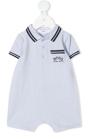 HUGO BOSS Logo-embroidered striped shorties