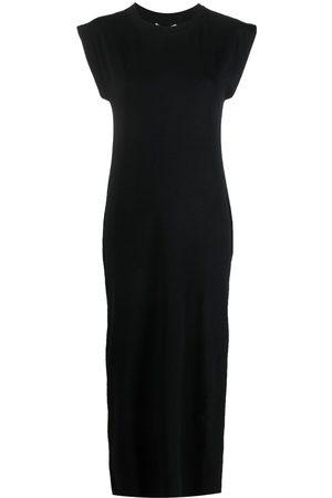 Apparis Crewn-neck jersey dress