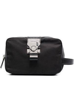 FPM Milano Men Toiletry Bags - Leather-trim wash bag