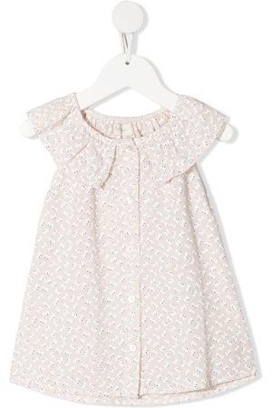 Buho Floral-print organic cotton shirt
