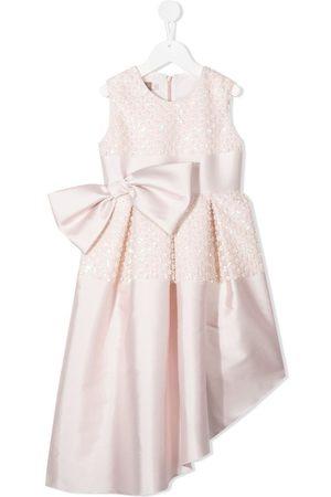LA STUPENDERIA High-low hem dress