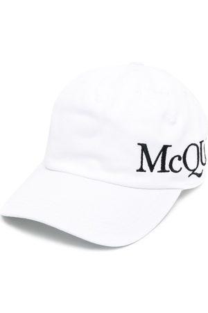 Alexander McQueen Men Hats - Logo-embroidered baseball cap