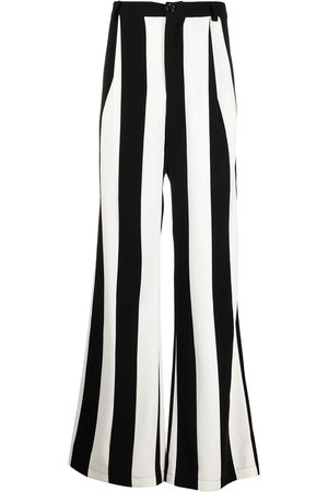 DUOltd Vertical-stripe wool trousers