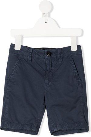 Stone Island Boys Shorts - Mid-rise chino shorts
