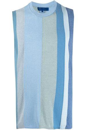 Comme des Garçons Striped-pattern knitted vest