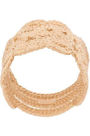Aurélie Bidermann Women Rings - Braided woven ring