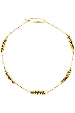 Aurélie Bidermann Women Necklaces - Wheat-shape necklace