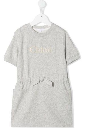 Chloé T-shirt bow waist dress