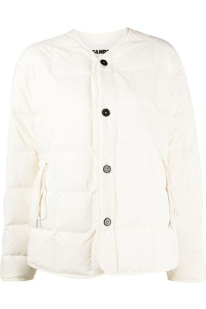Jil Sander Quilted buttoned jacket