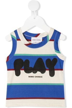 Bobo Choses Baby Camisoles - Striped vest-top