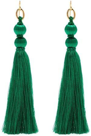 Jil Sander Tassel-detail thread earrings
