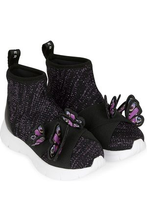 SOPHIA WEBSTER Butterfly-appliqué sneakers