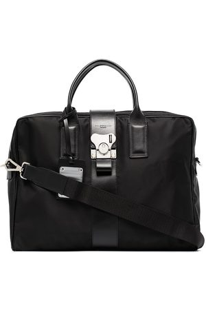 FPM Milano Leather-trim briefcase