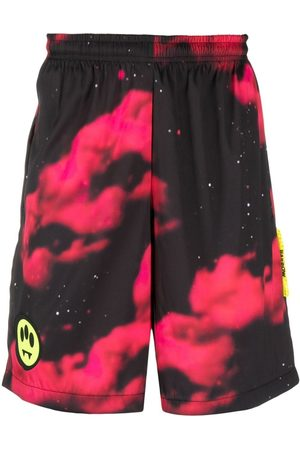 BARROW Men Sports Shorts - Tie-dye track shorts