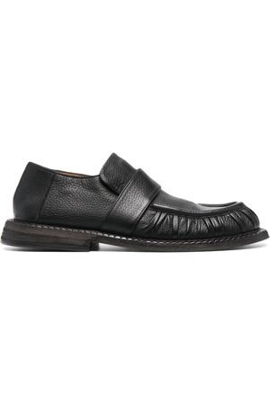 MARSÈLL Alluce slip-on leather loafers