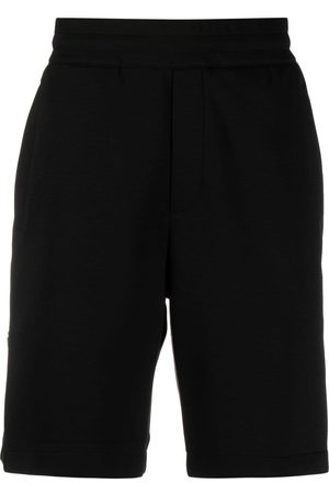 Emporio Armani Logo-embroidered track shorts