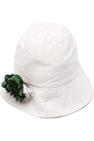 BIYAN Floral-embellished bucket hat
