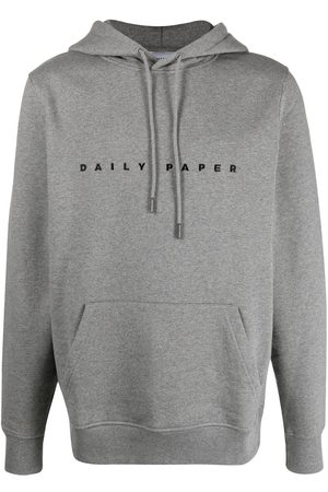 Daily paper Logo-embroidered cotton hoodie