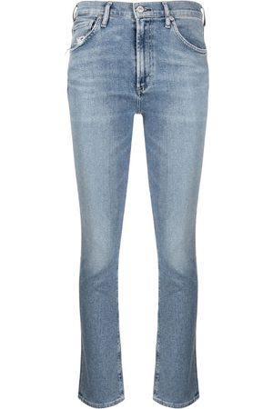 Citizens of Humanity Women Straight - Skyla mid-rise cigarette jeans